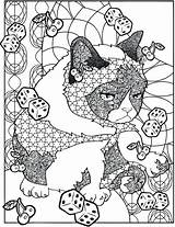 Coloring Haven Pages Whisker Grumpy Cat Dover Publications Creative Books Adult Animal Getdrawings Doverpublications Hates Sheets Welcome sketch template