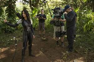 New 'Catching Fire' Behind The Scenes Stills - The Hunger ...