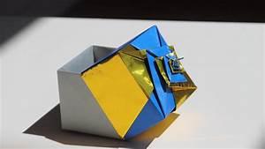 Origami Spiral Box
