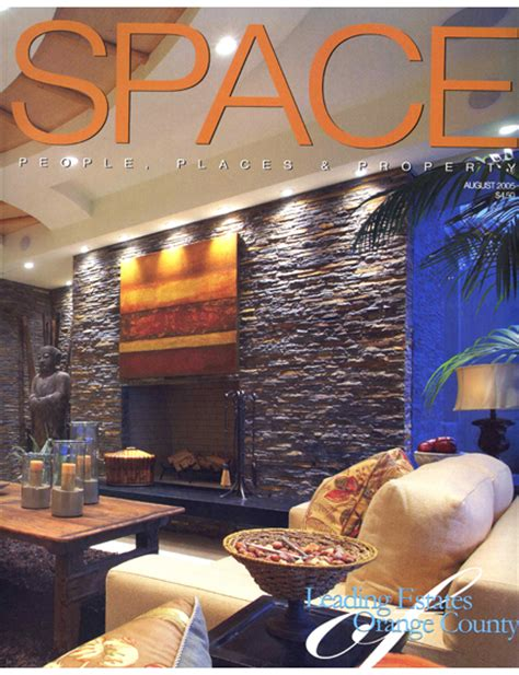 space magazine cover