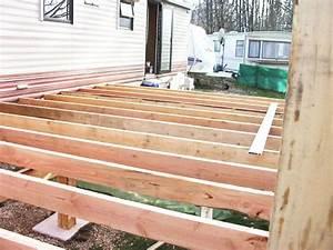 terrasse bois pour mobil home With plan pour terrasse bois