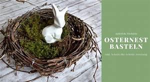 Osterdeko Selber Machen Anleitung : osternest basteln osternest aus birkenreisig lavendelblog ~ Orissabook.com Haus und Dekorationen