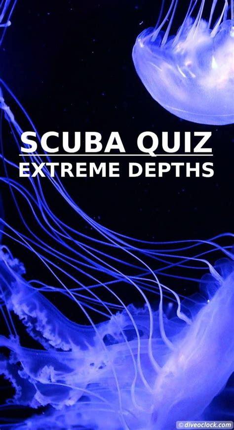 scuba quiz  deep     shirt diving diving