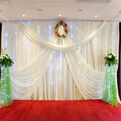 cheap wedding reception decorations popular backdrop material wedding buy cheap backdrop material wedding lots from china backdrop