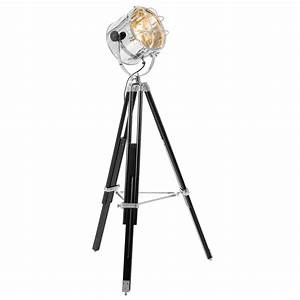 Floor lamp design tripod spotlight floor lamp uk for Winston studio spotlight floor lamp on tripod