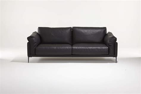 beau canape grey leather sofas blitz