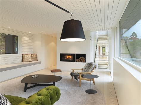This property is 11 minutes walk from the beach. Modern Suburban Villa In Norway | iDesignArch | Interior ...
