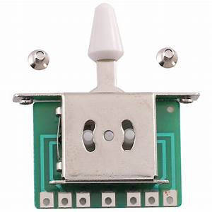 Seismic Audio 5 Way Toggle Switch Pickup Selector For Tele