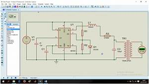 Sine Wave Inverter Using Ic 555 Timer With Proteus