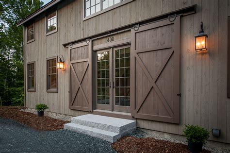 barn doors for homes grantham lakehouse yankee barn homes