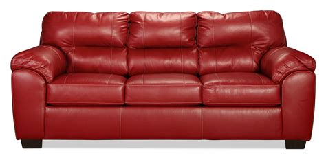 red sleeper sofa queen rigley queen sleeper sofa red levin furniture