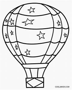 printable hot air balloon coloring pages for kids cool2bkids With hotairschematic