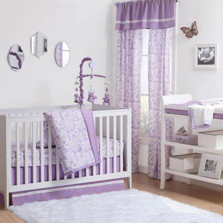purple crib bedding sets the peanut shell 4 baby crib bedding set