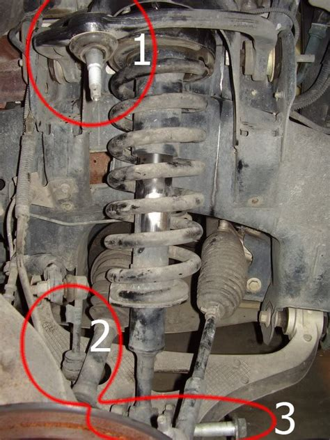 ford  replace front struts  shocks ford trucks