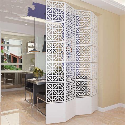 6pcslot 29*29cm Room Divider Screen Partition Modern
