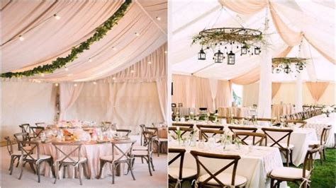 how to decorate a wedding tent decoration for home