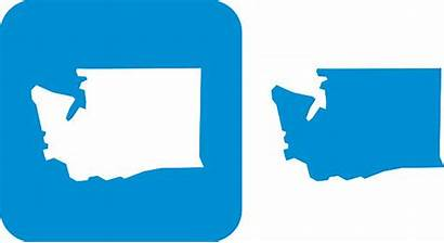 Washington State Clipart Clip Vector Icons Royalty