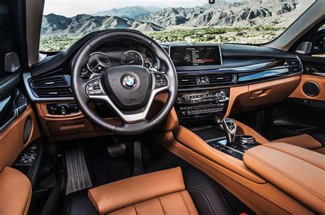 bmw x6 interior 2015 bmw x6 look motor trend