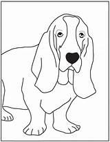 Hound Basset Coloring Bassett Kleurplaten Dog Colouring Printable Cachorros Hounds Desenhos Sheets Pintar Colorir Cachorrinhos Desenhar Mandala Visitar Designlooter Kleurplaat sketch template