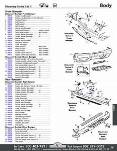 Discovery I Front Bumpers  Radiator Panels  Exterior Body