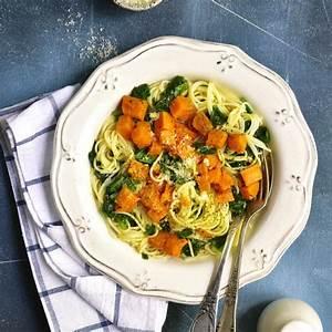 Pasta Mit Hokkaido Kürbis : vegane pasta mit ger stetem k rbis und spinat fitshapery ~ Buech-reservation.com Haus und Dekorationen