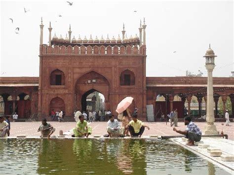 delhi jami masjid jama masjid freitagsmoschee indien