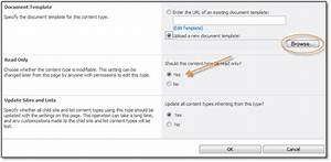 Implementing custom business templates in your sharepoint for Document library content type