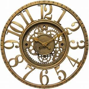Decorative, Gear, Clock, In, Wall, Clocks