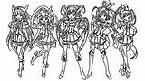 Glitter Force Coloring Pages Printable Sheets Itsfunneh Para Colouring Colorir Print Doki Anime Candy Characters Desenhos Pintar Desenho Popular Template sketch template