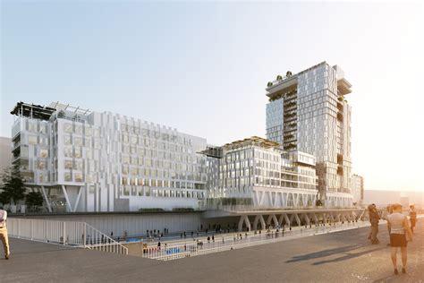 vinci siege social jean paul viguier architecture projet siège social de