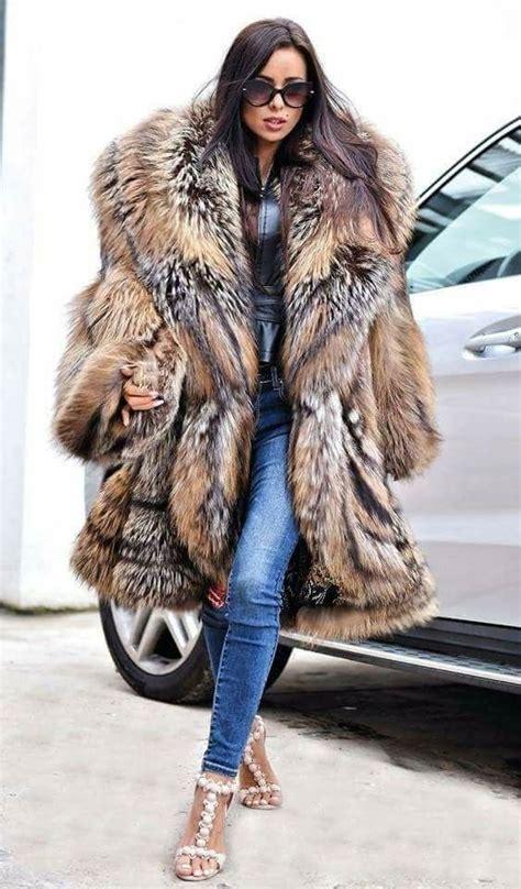 fur outlet royal cross fox coat vintage fur fashion fur