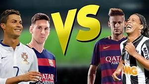 Batalha de Dribles - Neymar Jr - Messi - Ronaldinho Gaúcho ...