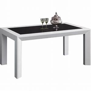 Salle A Manger Noir : salle a manger noir et blanc pas cher solutions pour la ~ Premium-room.com Idées de Décoration