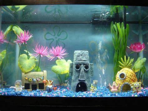 spongebob fishtank akvaario aquarium pinterest