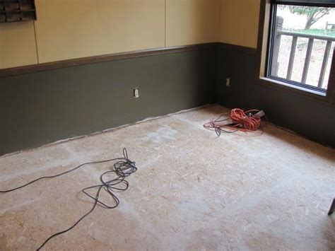 painting particle board floor home home
