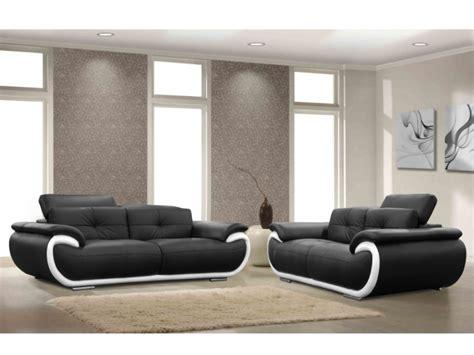 canap et fauteuils canapé et fauteuil en cuir 4 coloris bicolores smiley
