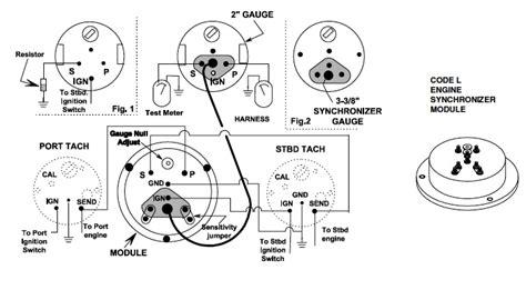 Medallion Tachometer Wiring Diagram by Troubleshooting Teleflex Engine Synchronizer Instrument