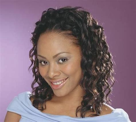 hz 7021 by sensationnel instant weave synthetic half wig curly style ebay
