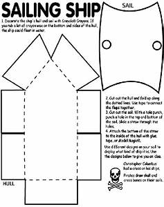 Printable pirate ship template for Pirate ship sails template