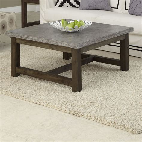 concrete coffee table diy concrete coffee tables you can buy or build yourself