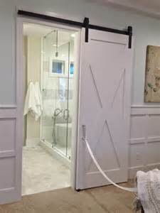 barn doors for homes interior awesome white polished single wooden sliding bathroom barn doors for homes interior added modern