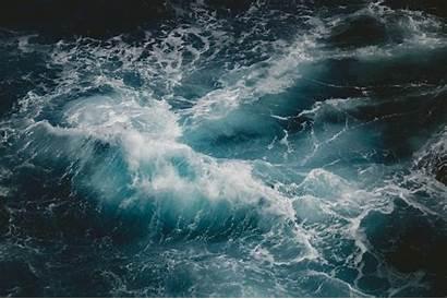 Ocean Sea Wave Waves Water Rough Close