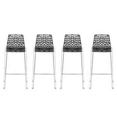 chaise de bar avec 4 pieds chaise bar 4 pieds cuisine en image