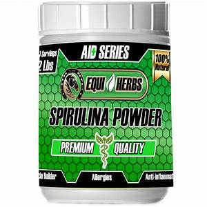 Spirulina For Horses Health Benefits Includes Horse Allergy And More