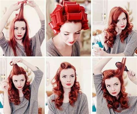 1940s Hairstyle Tutorial by 1940s Hairstyle Nursing 1940s Hairstyles