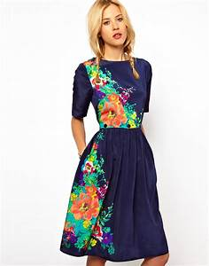 Floral print dress FLOWER PRINT in Fashion