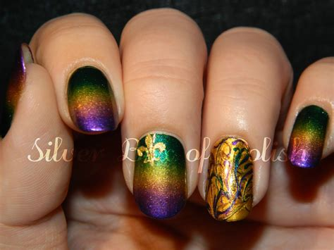 mardi gras nail designs silver box of mardi gras nails