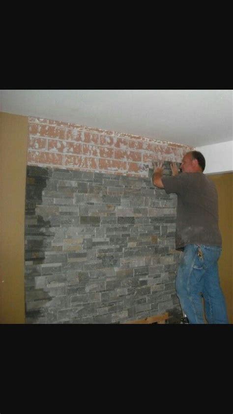 Slate Veneer Fireplace - slate veneer fireplaces in 2019 home fireplace