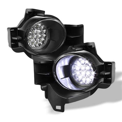 nissan altima fog lights 2010 2012 nissan altima 4 door sedan full led fog lights