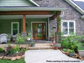 Front Porch Landscaping Ideas with Rocks